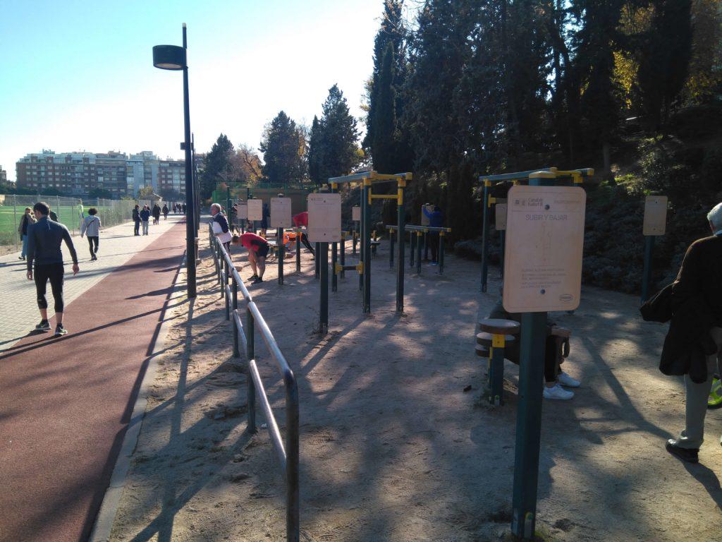 pista de atletismo en Madrid